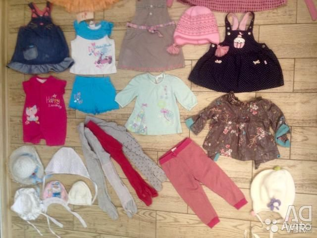 Dresses, tights, rugs, hats from 0-3 years old