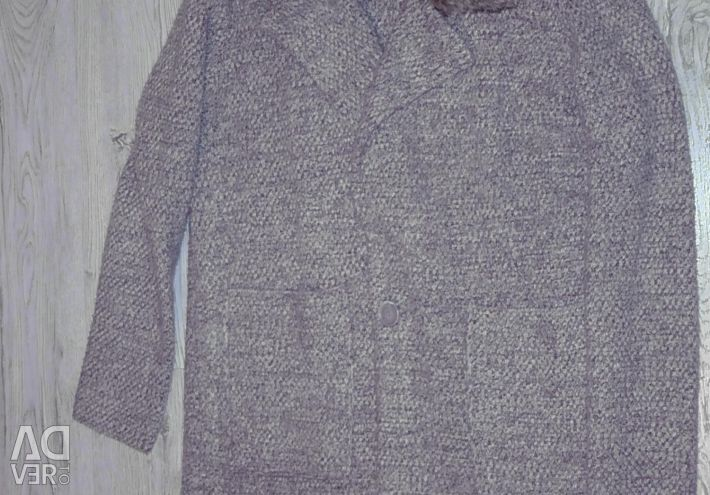 Knitted coat Zara