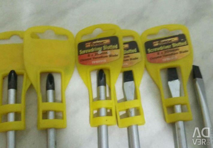 New screwdrivers