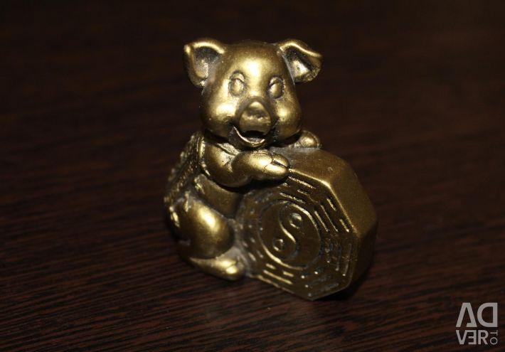Figurină de porc