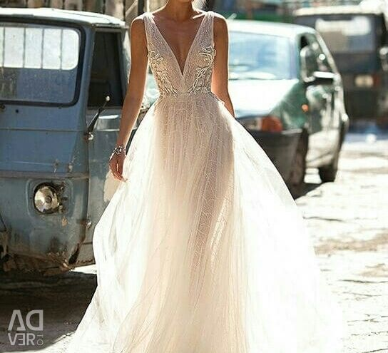 Wedding dress in the style of boho Berta Bridal Bailey