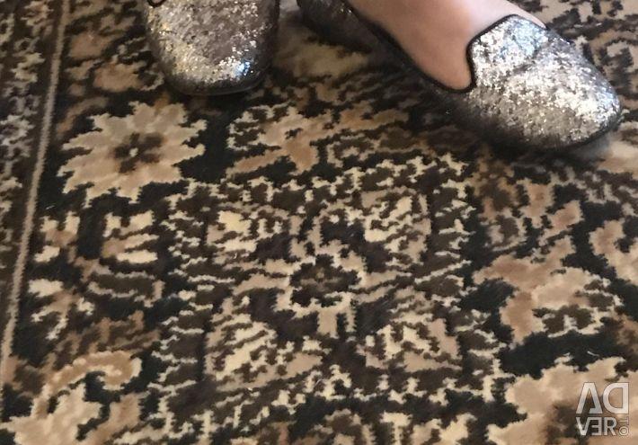 Pantofi de argint-loffers.