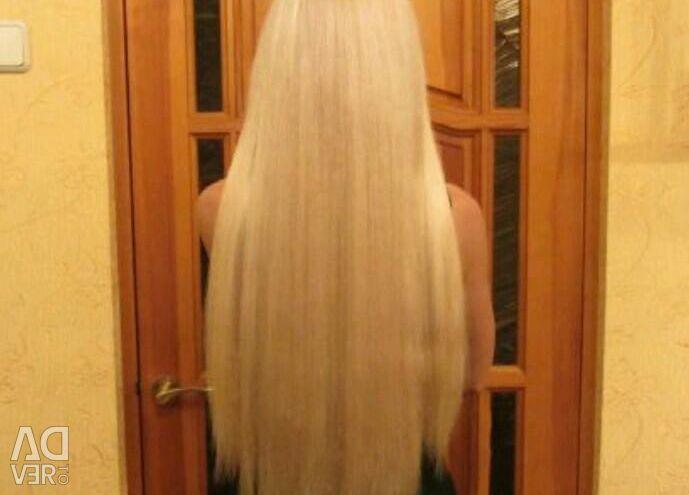 Hair extensions (hot, ribbon)