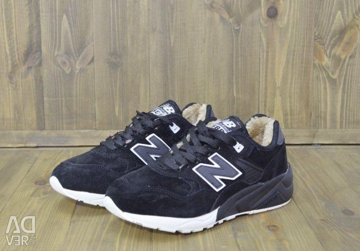 Sneakers New Balance 580 Winter black