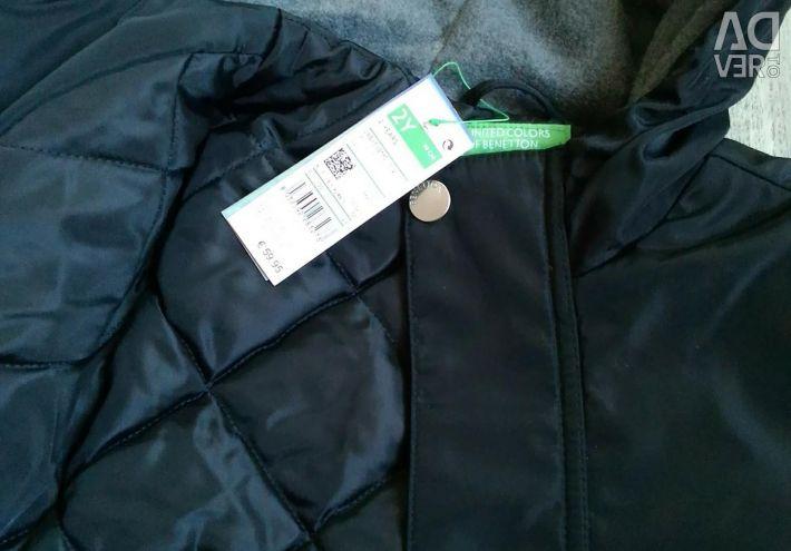 Noua jachetă Demi-sezon Culori Unite ale lui Benett
