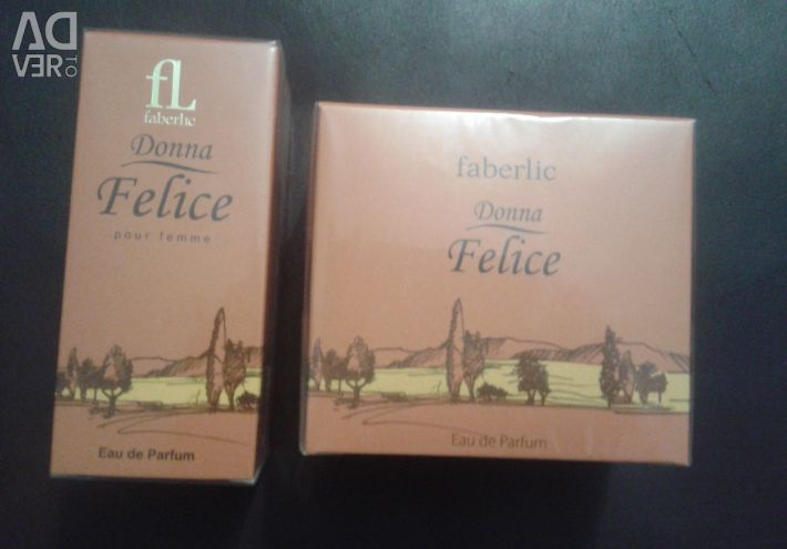 Perfume for women and deodorant spray Festa di Vita