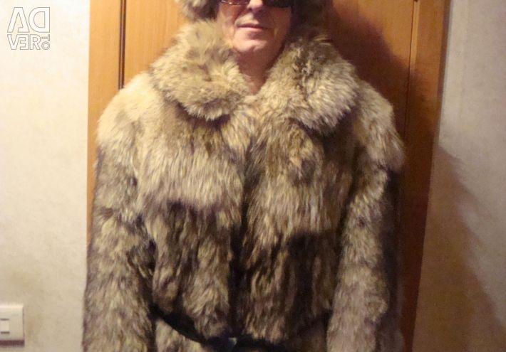 Κοντό γούνινο παλτό