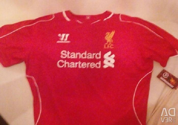 Shirt cu mânecă scurtă ediție oficiale 2016 Liverpool variegată ..... xl .. 2 cu 50 eur .. 1 din 30