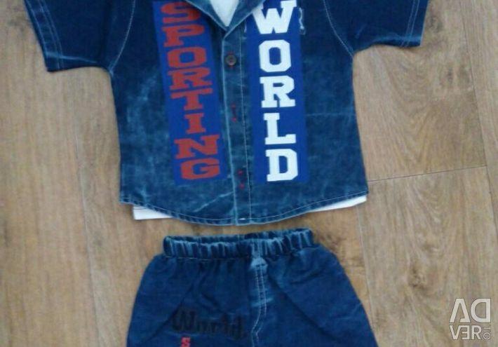 Costume on a boy three.