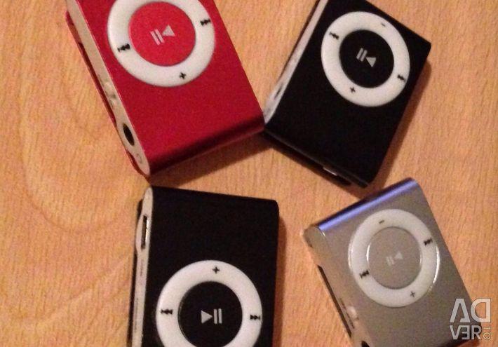 MP3 player.