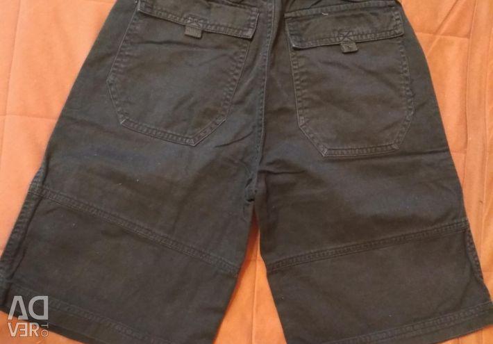 Pantaloni scurți din jeans pentru 8-10 ani