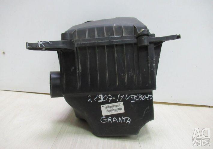 Air filter housing cover Lada Granta oem 21907110901010 (demolished 3 reinforced) (cl-3)