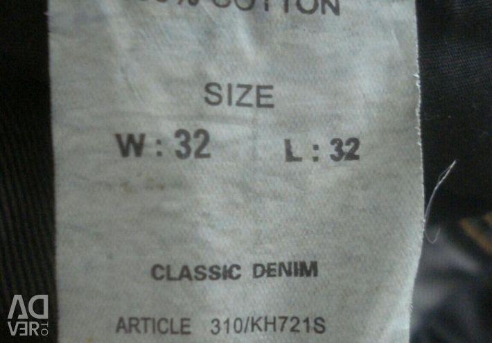Yeni erkek kot verri W32, L32 orijinal