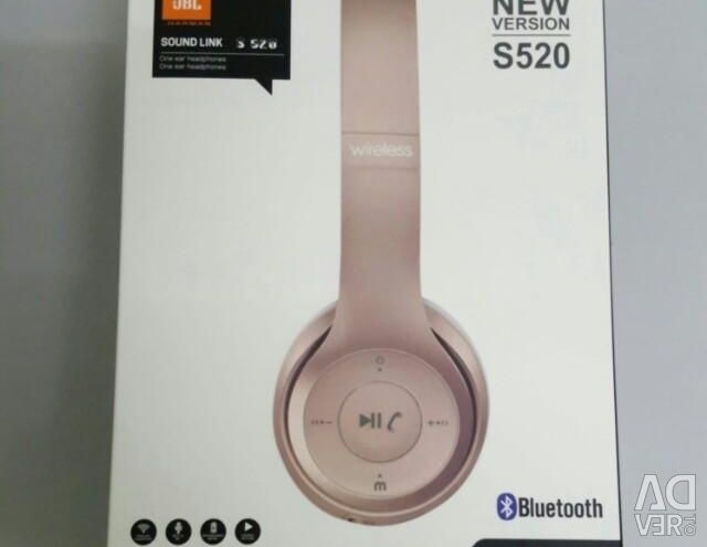 Headphones bluetooth jbl s520 wireless with micro sd, city Saint