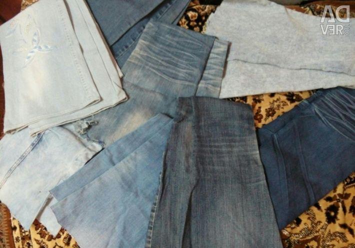 Selling fabrics for needlework