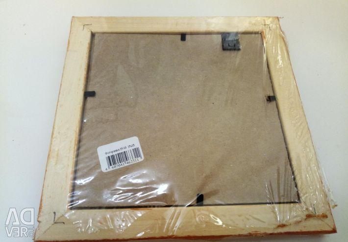 Photoframe 15 x 15 cm new
