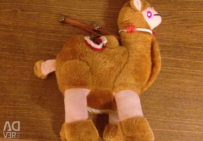 Soft toy camel