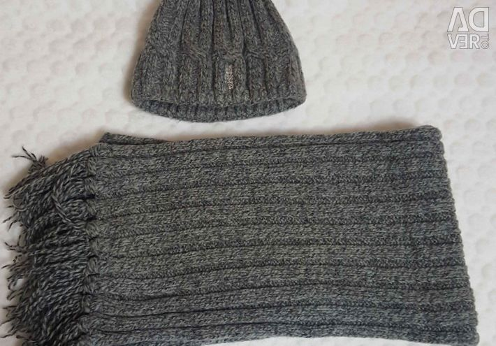 Hat and scarf. set