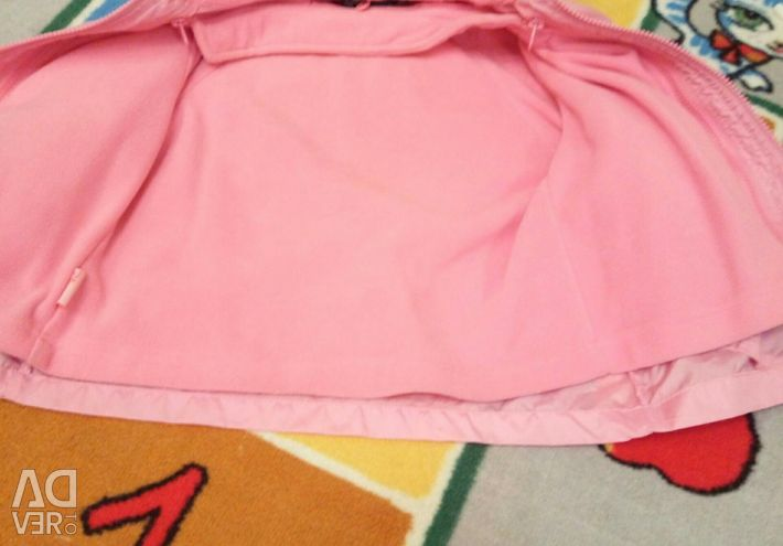 Husă de ploaie + cardigan fleece Disney 92-110cm