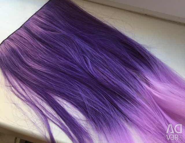 Ψεύτικα μαλλιά / σκέλη μοβ