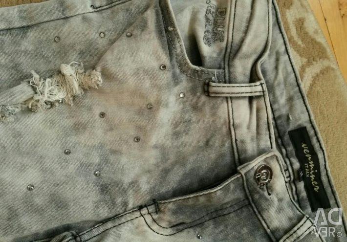 Italian ragged jeans26- 27raz