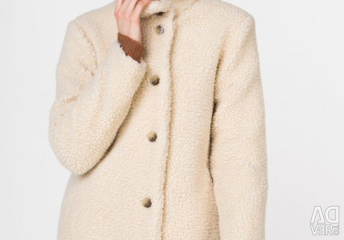Demi-season jacket made of art. Fur Blend She New