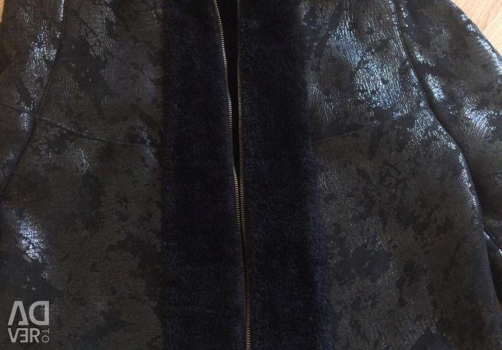 Jacket of sheepskin coat