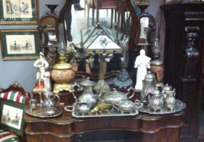 Table Antiques Modern Russia