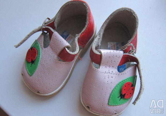 Sandale din piele 13-14 cm