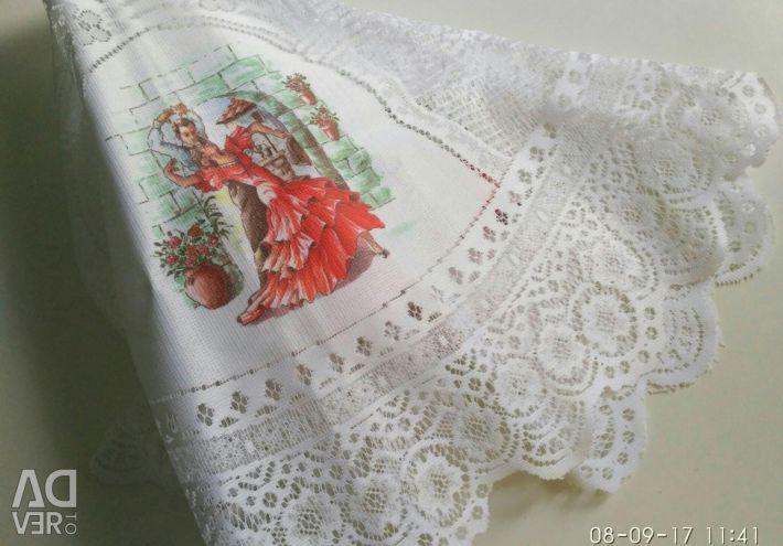 Tablecloth- napkin Spain, diameter 100cm
