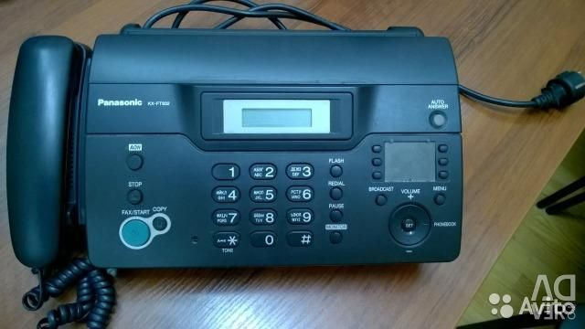 Φαξ συσκευή φαξ Panasonic KX-FT923