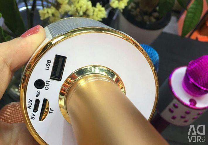 Microfon Difuzor FM Radio USB Micro-SD WS-858