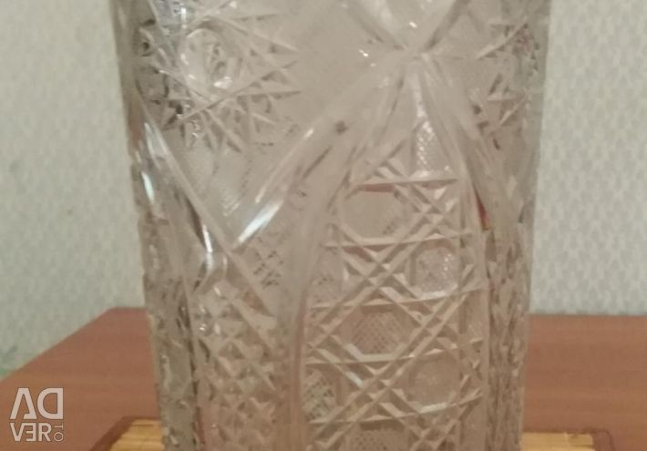 Κρύσταλλο λουλούδι βάζο