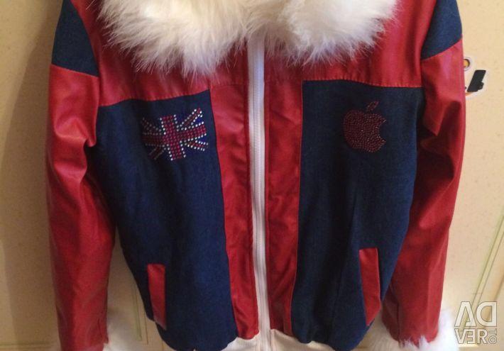 Jacket on the fur