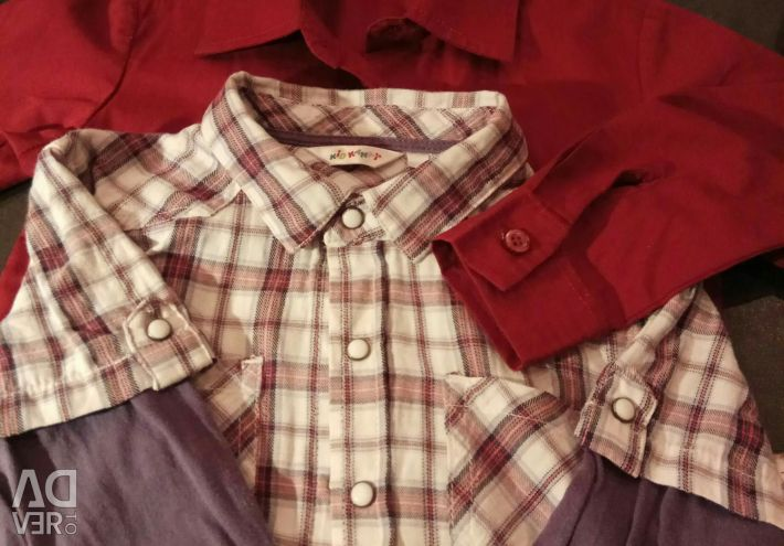 2 shirts for a boy 2-3 years old