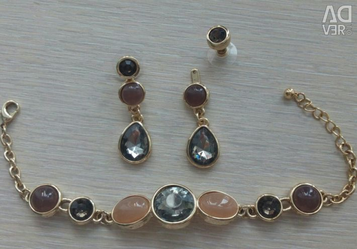 New sets of jewelry