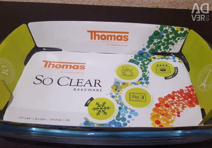 Томас стеклянная форма для запекания