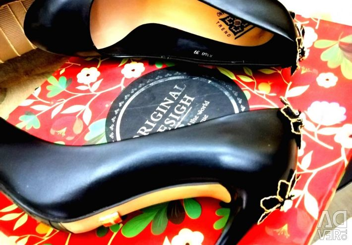 Leather??New chic shoes