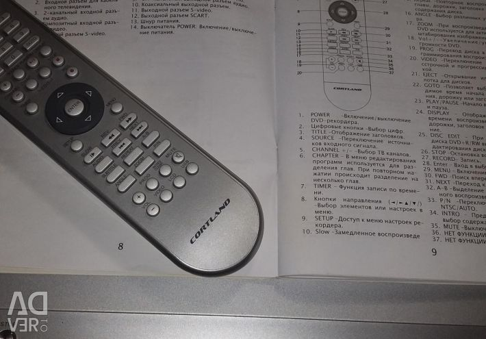 DVD-Recorder. Model-DV-R23