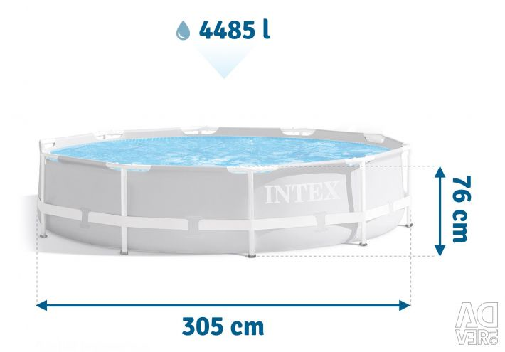 Frame pools Intex long series
