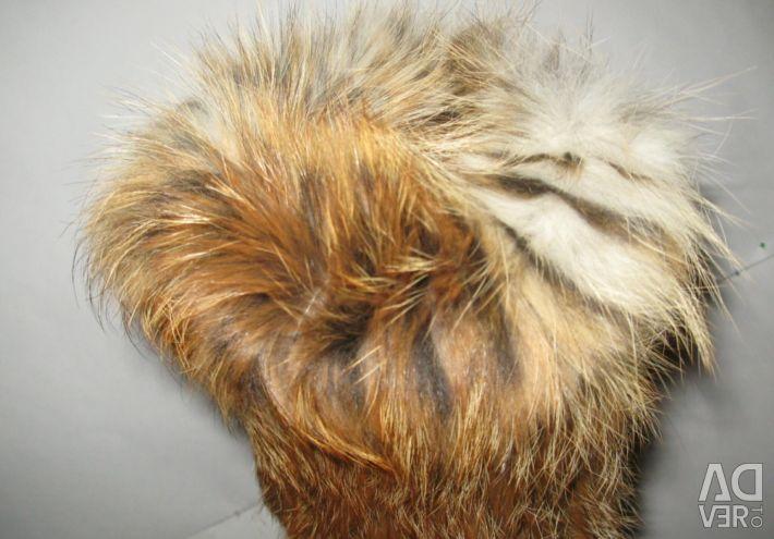 Pălărie de blană de vulpe