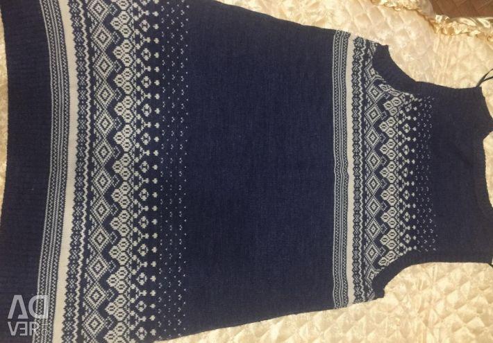 Безрукавка-платье