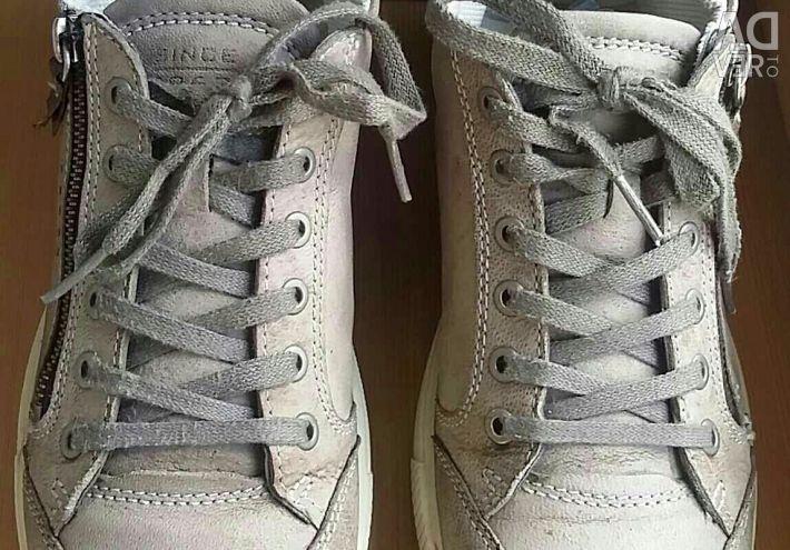 Ecco Sneakers Ennio leather, Ecco zipper, city Moscow