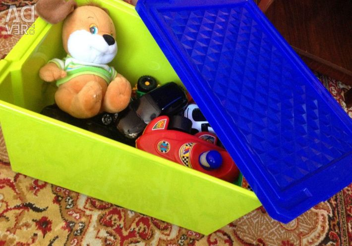 Cutie pentru jucării 57 litri - articol LA1019