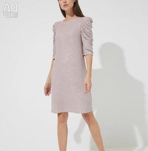 Coated Mini Dress