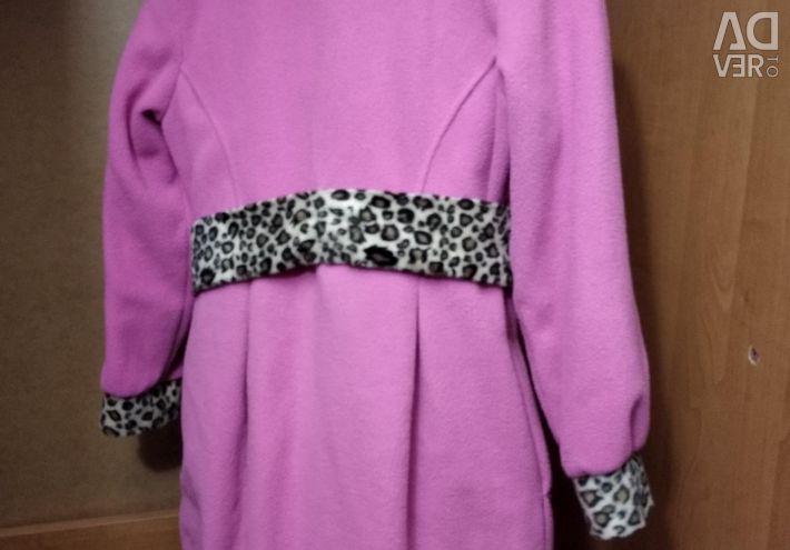 Light overcoat for girls