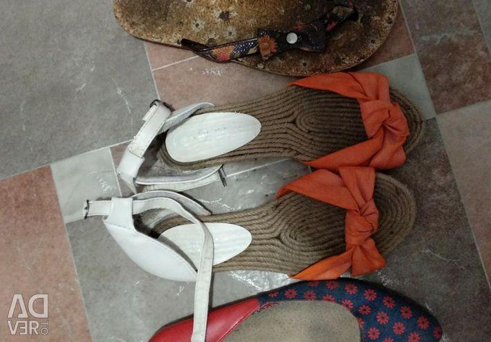 Yaz ayakkabı paketi