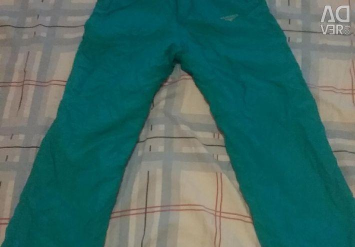 Pantaloni de schi pentru 8-10 ani