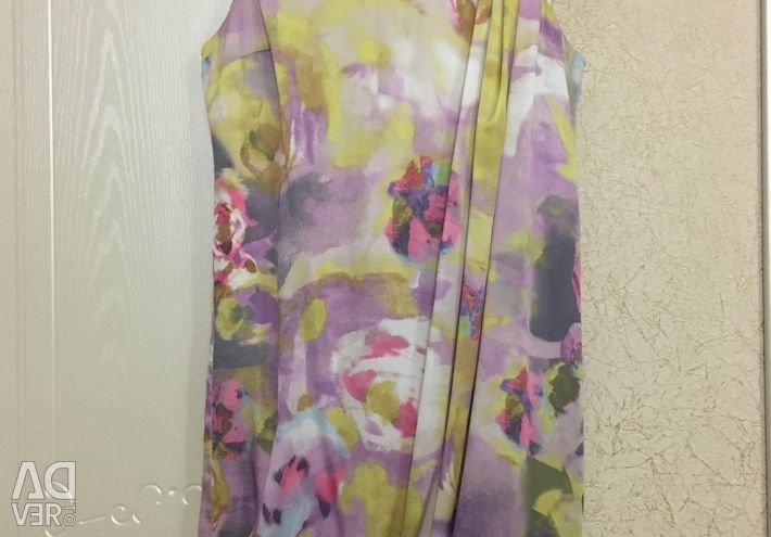 ? Women's silk dress.
