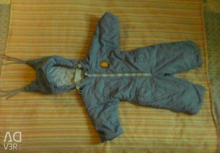 Winter overalls for children